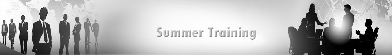 Summer Training
